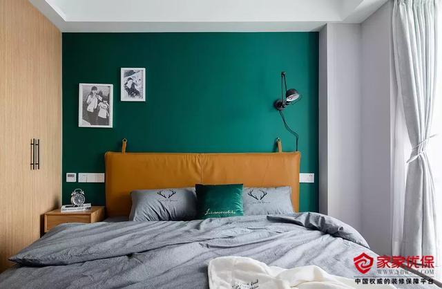 小户型复古北欧风装修效果图,简洁舒适的两居室
