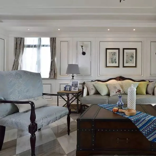 一居室美式风格设计案例,是人们喜欢的美式设计