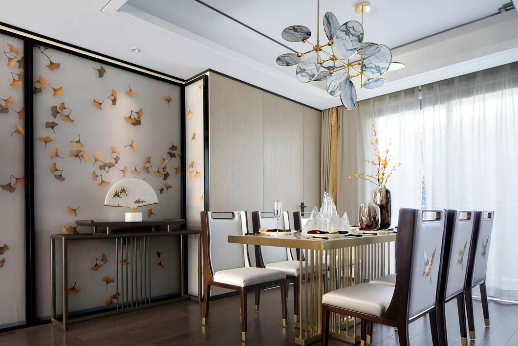 三居室新中式风格装修图片,享受浓郁的书香之家