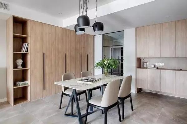 现代简约风格三居室案例,如此文艺的空间,你喜欢不