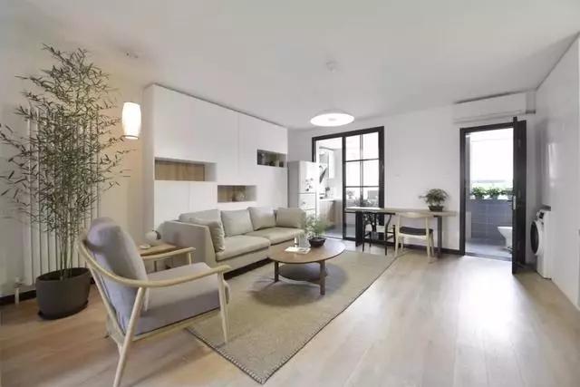65平日式二居室装修设计案例,时尚美观又大气的居住空间