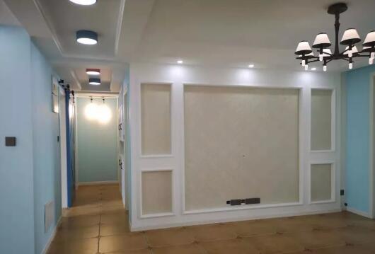地中海风格新房装修效果图,房子只硬装效果还不错