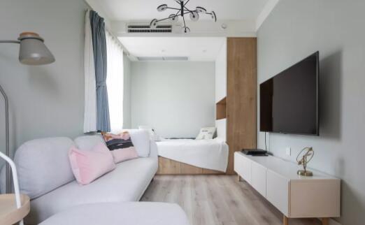 北欧风格新房装修效果图,简单的装饰打造可爱文艺的家