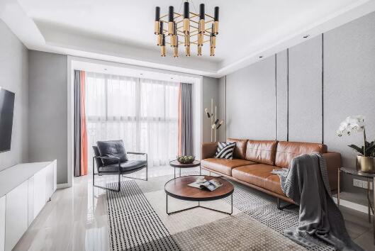 现代风格装修效果图,简单的黑白灰打造气质满满的家