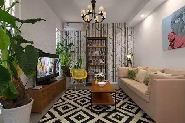 一居室改两居室装修,时尚舒适的简约风