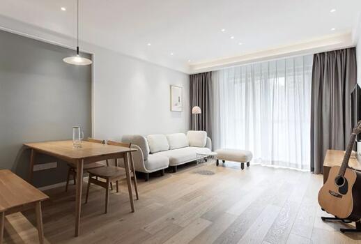 北欧风格新房装修效果图,墙面留白简单装修也能打造美观舒适的家
