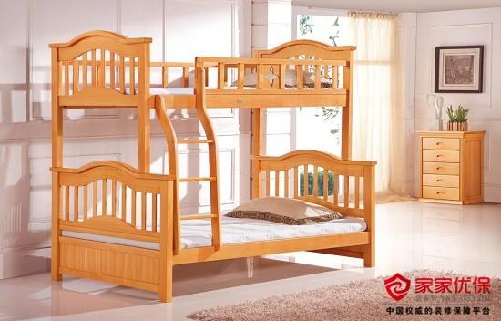 儿童床选皮床还是实木床?儿童实木床选购技巧