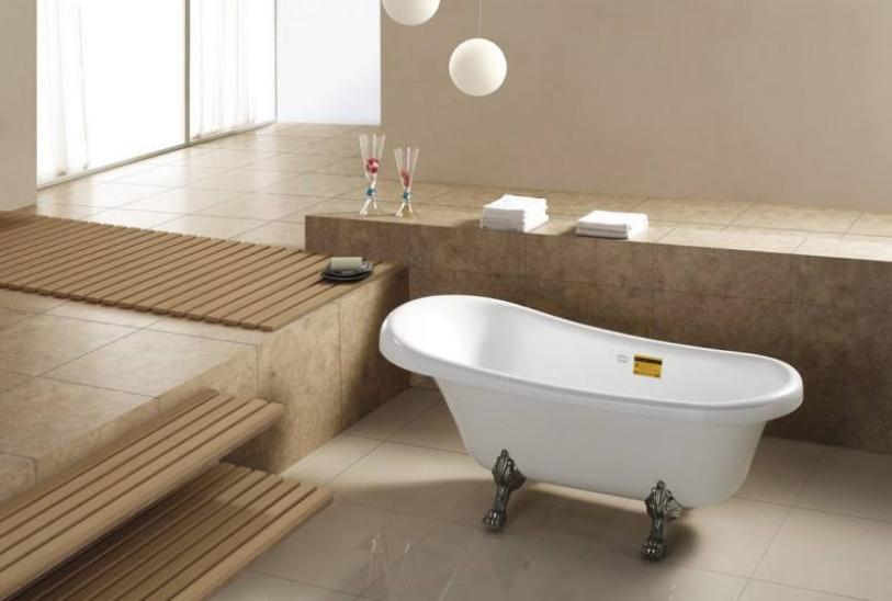 带浴缸的卫生间要多大?浴缸安装高度一般为多少?